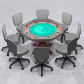 Revit Family-Poker Table-3