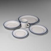 Revit Family-Japanese Plates Set