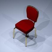 Revit Family-Poker Chair-1