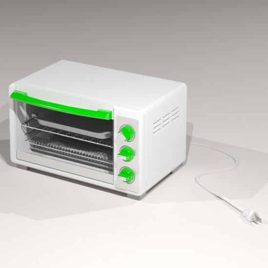 Revit Family-Counter Oven