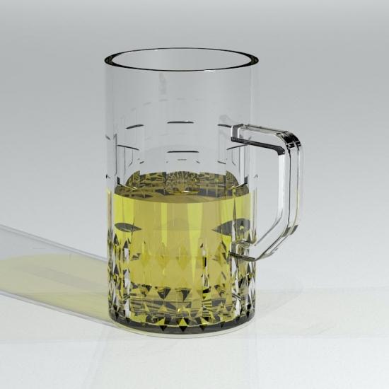 Free Revit Family Download - Beer Mug | www