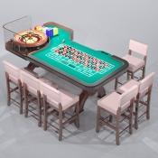 Revit Family-Roulette Table