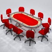 Revit Family-Poker Table-2