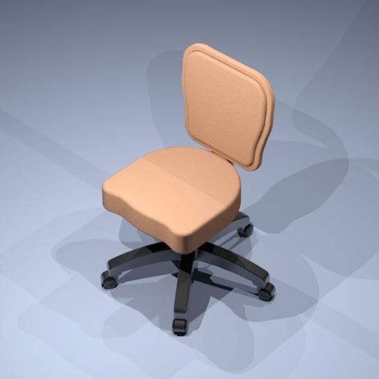 Revit Family-Poker Chair-2